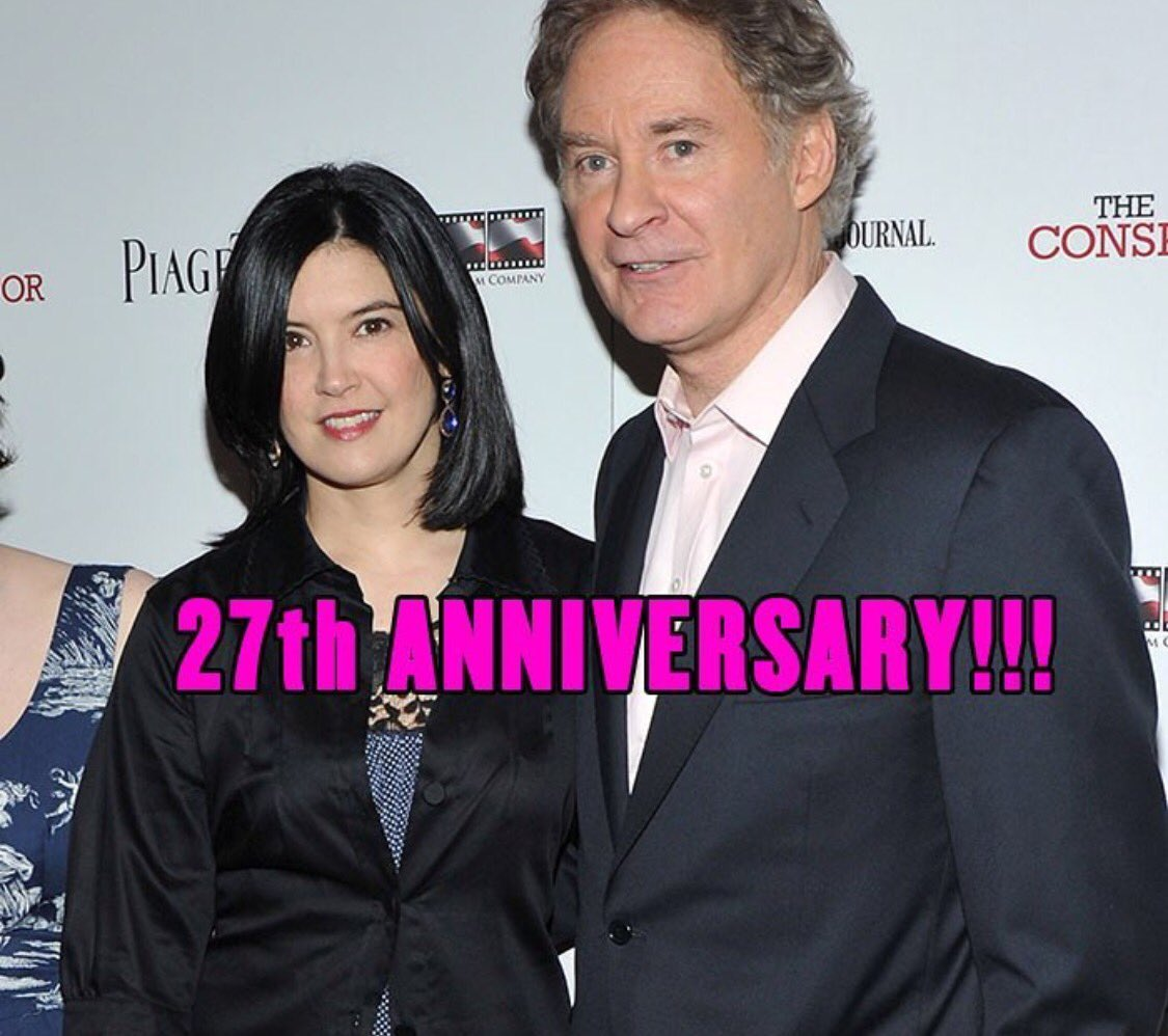 Divorce court on twitter happy 27th wedding anniversary for Phoebe cates still married kevin kline