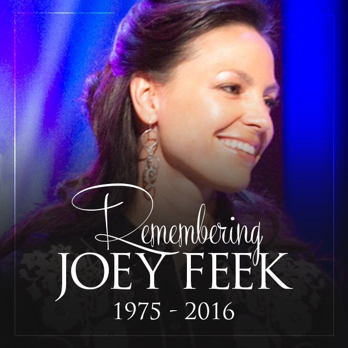 Our hearts go out to the family of Joey Feek. She was a beautiful person inside and out and will truly be missed. https://t.co/BhkGPuvnEz
