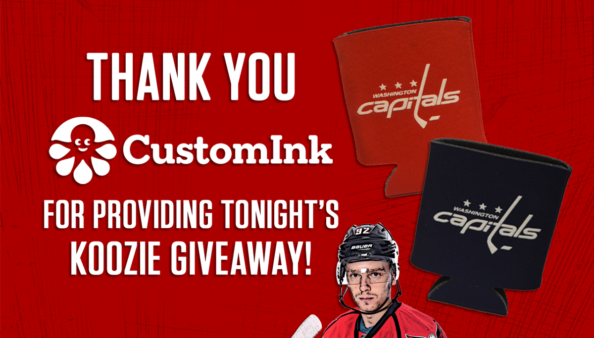 065c8ecb05c Thank you  customink for the Koozie tonight!  CapsNYR  RockTheRed  https   t.co ZbvZA8fB7Z