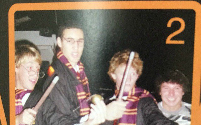 Klay Thompson was really bout that Harry Potter life as a kid (Via r/NBA) https://t.co/4cgTKiBTML