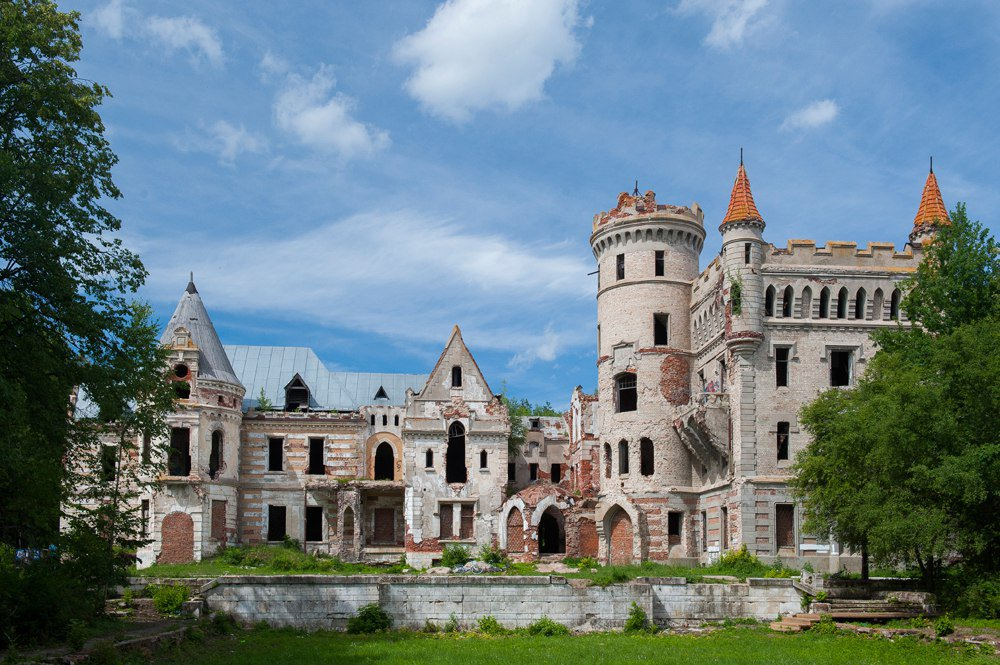 состоит нескольких замок храповицкого в поселке муромцево фото животное