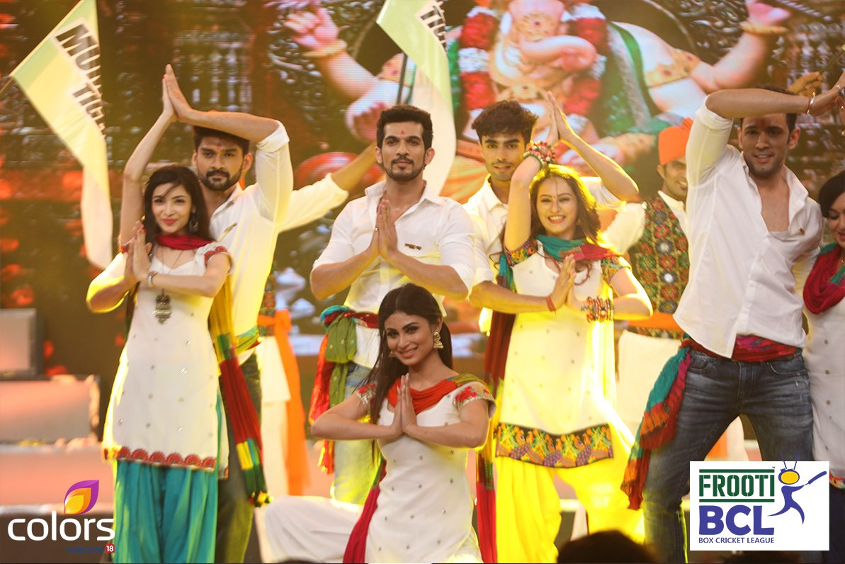 Arjun Bijlani's Mumbai Tigers BCl Team entrall the audience with their superb performance image-photo-picture