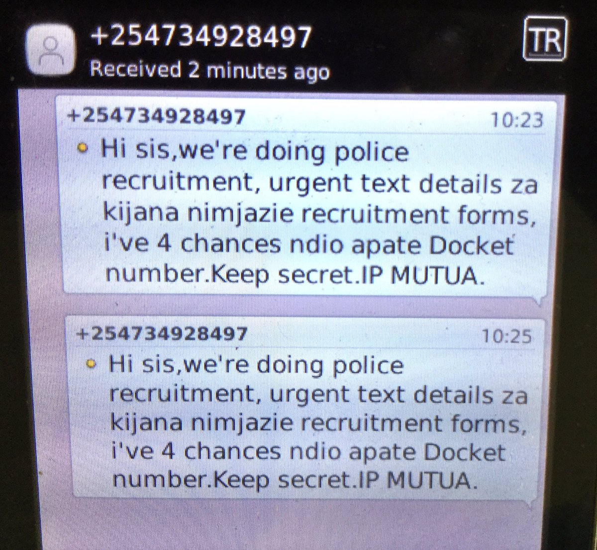 Safaricom Care On Twitter Carolinekere Hi Kindly Forward The Numbers Via Sms To 333 For Free For Our Fraud Team To Investigate Further Also Report The Cont