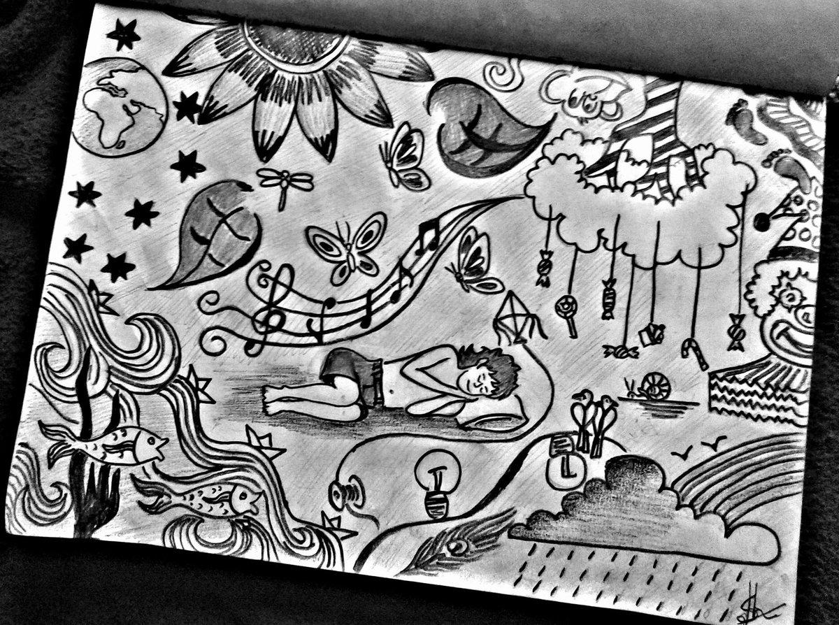 Art artists pencil drawing sketch shades dream child world india butterflies kerala thrissur musicpic twitter com zbjzofjwem