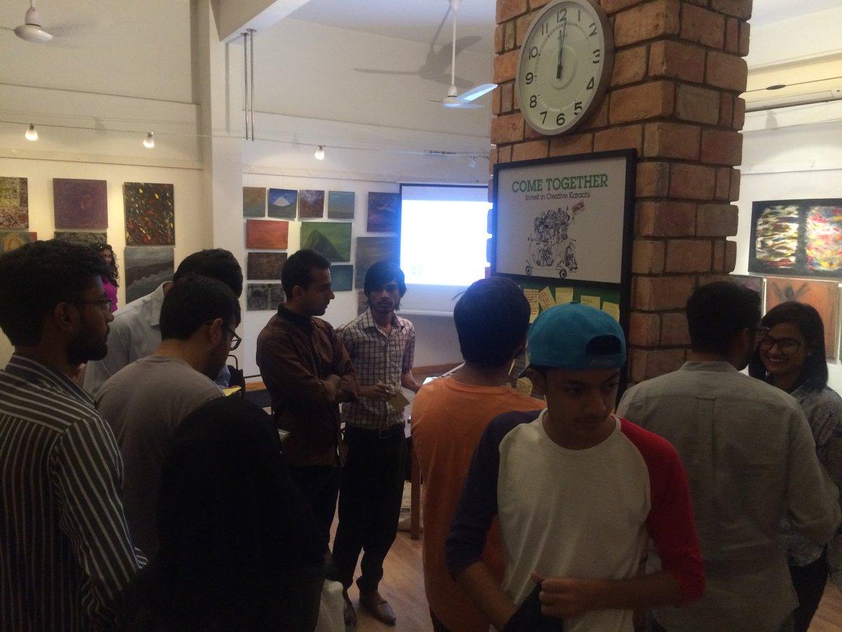 We're running a civic Hackathon in Karachi today! #hackarachi #codeacross https://t.co/cZk9ZpogcM