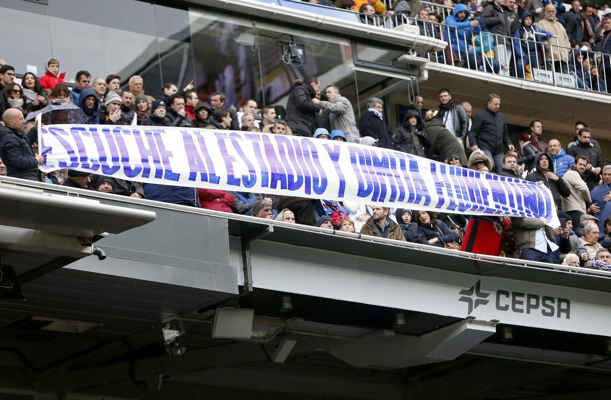 Болельщики Реала призвали Флорентина Переса уйти в отставку - изображение 1