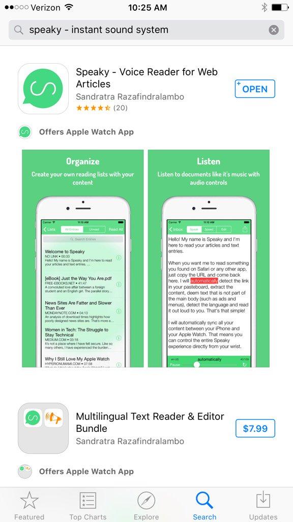 تحميل تطبيق Speaky المدفوع مجانا للايفون
