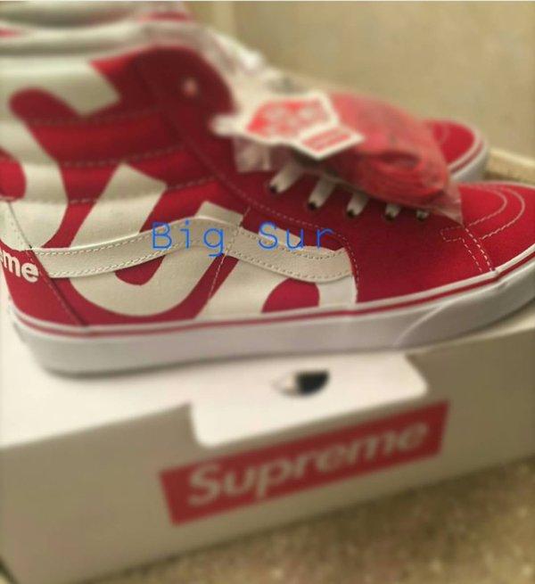 Supreme X Vans Custom Via Twitter Mrbld Ch Status 706127640940433408 Pictwitter VTq8CV99U1