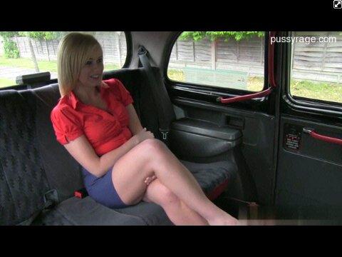 В такси порно фото