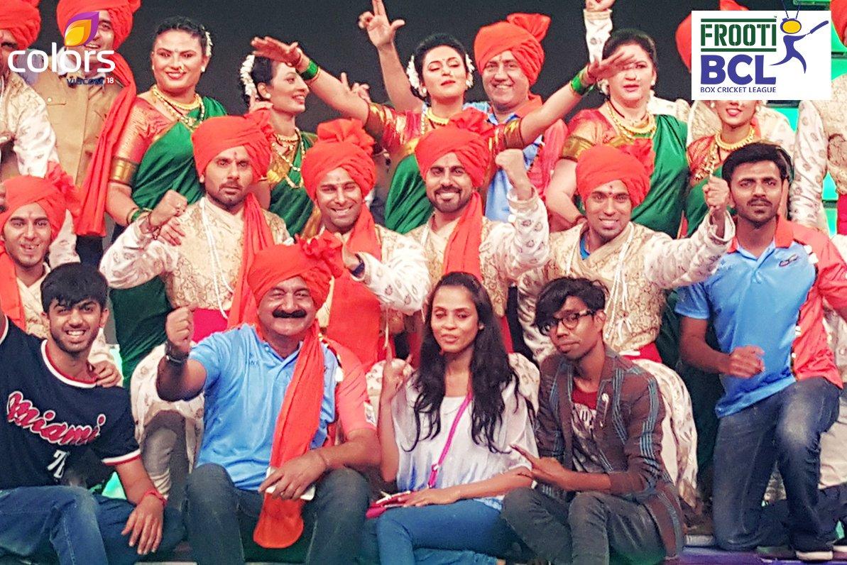Pune Anmol Ratn BCL Team - Divyanka Tripathi and team image- Picture