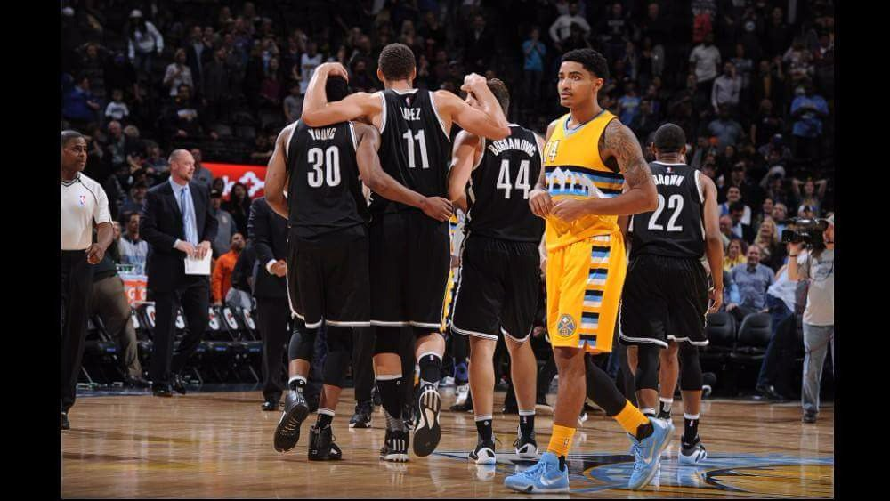 Wow, what a fantastic team effort! We defeated the Denver Nuggets in overtime with a last-second shot! #Nets