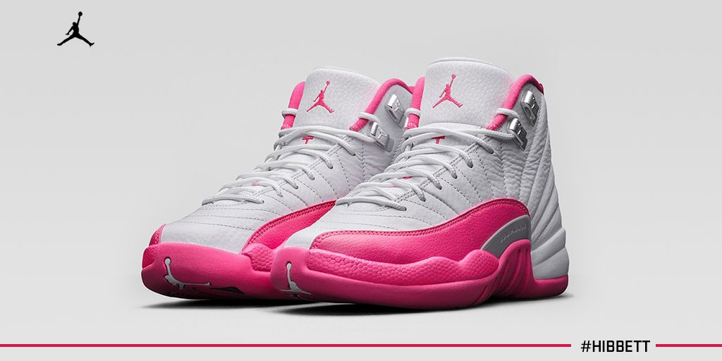 7e1d8cb31c61d5 ... jordans for kidsfactory outlet price 1c55a 975a7  where to buy hibbett  sports on twitter release day girls air jordan retro 12 vivid pink