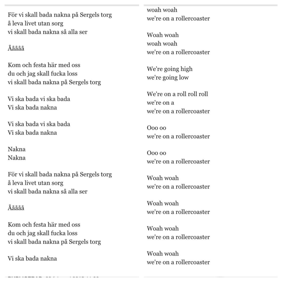 Duellen mellan Sveriges bästa textförfattare #melfest https://t.co/cM8CO9GNDJ