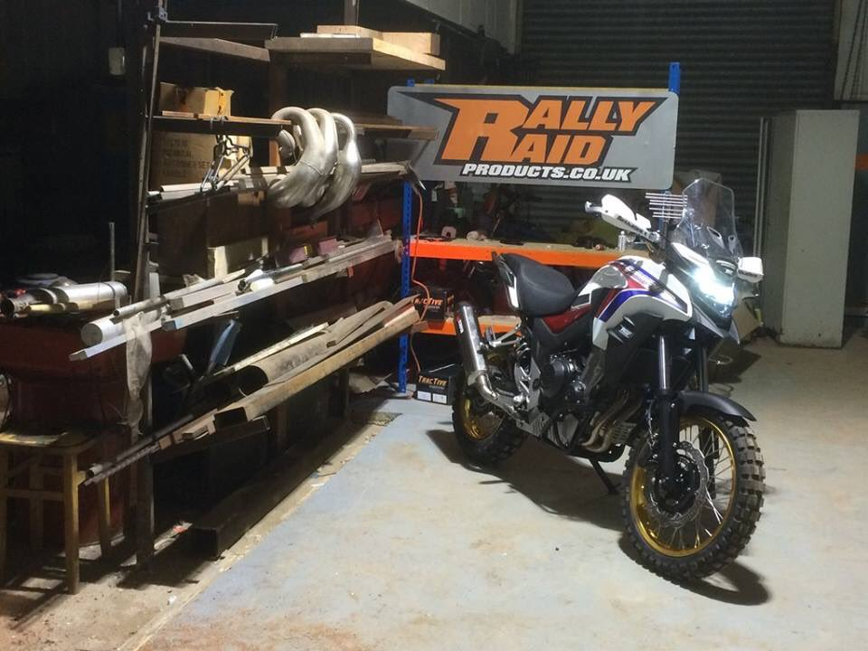 RALLY RAID PRODUCTS On Twitter Cracking Weekend In The Rally Raid Products Workshop Building Our New CB500X Heritage Adventure Tco C8SroyKOl8