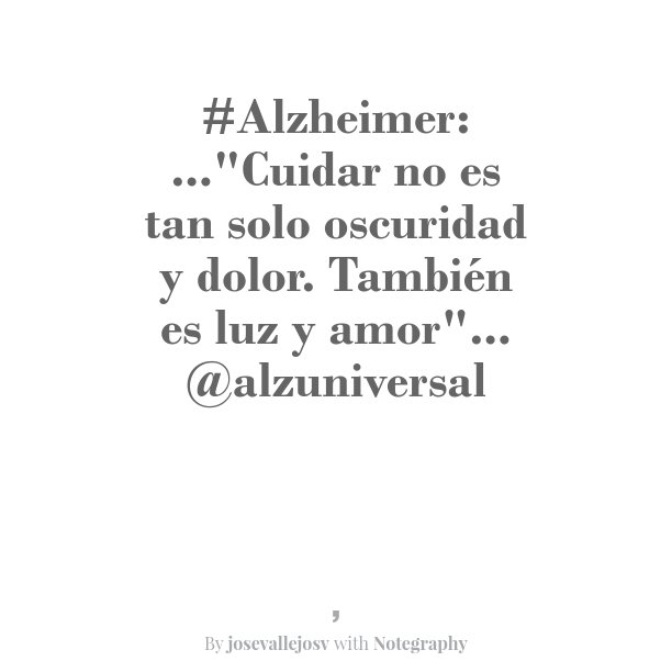 #Alzheimer: Mi Experiencia https://t.co/yOxOKsAUeA #LaHoraChachi59 @LaHoraChaChiOfi https://t.co/E2IQmb2006