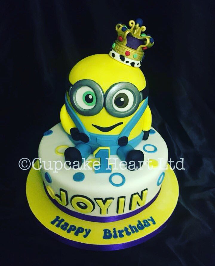 Cupcake Heart on Twitter King Bob Minion cake kingbob minion