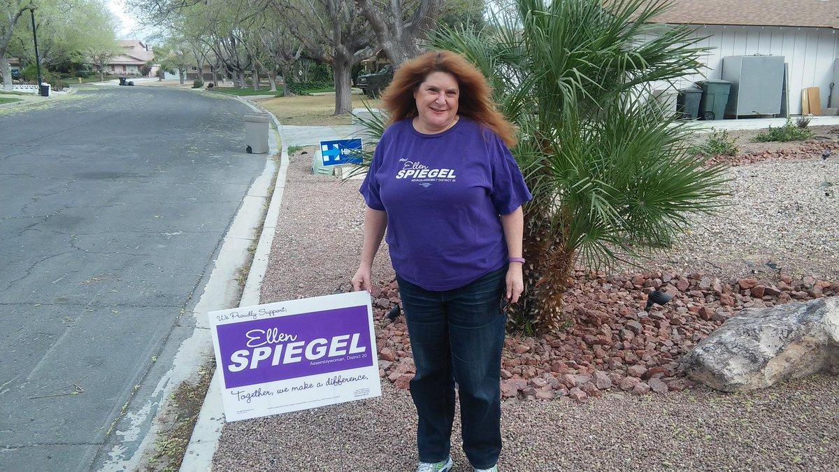 Assemblywoman Ellen Spiegel