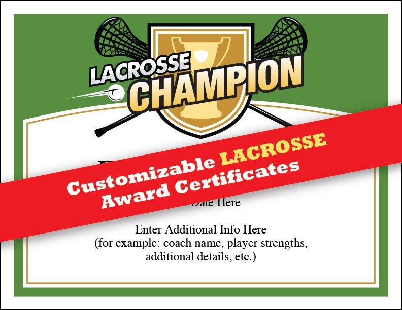 Sports feel good on twitter lacrosse certificates templates you sports feel good on twitter lacrosse certificates templates you asked and weve delivered check em out at httpstqryeas4m9v yelopaper Gallery
