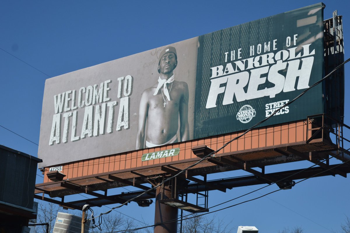 Welcome To Atlanta Home Of Bankroll Fresh. Rest Easy Big Homie #RIPBankrollFresh https://t.co/6ArUcF3ZqU