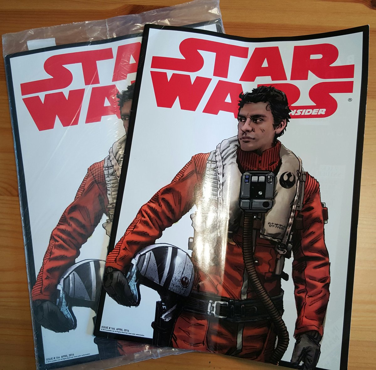 .@SW_Insider #164 has arrived. #StarWars #PoeDameron #Poe https://t.co/wOvZXu4Og5