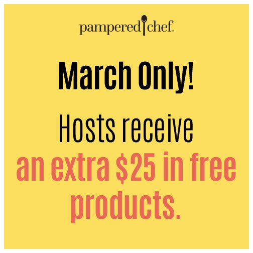 Host a party in March and we'll give you an extra $25 in free product value! Book it today: https://t.co/fNaXXlUeAh https://t.co/UYgLGj4VI3