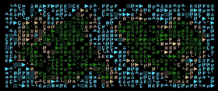 An ASCII fuckup