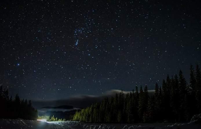#amazinguniverse #heavenlystars #gratefulheart near MacKenzie BC