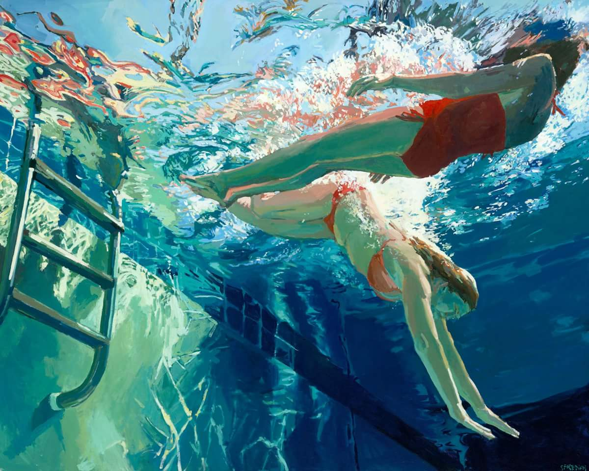 underwater paintings artwork - 735×593