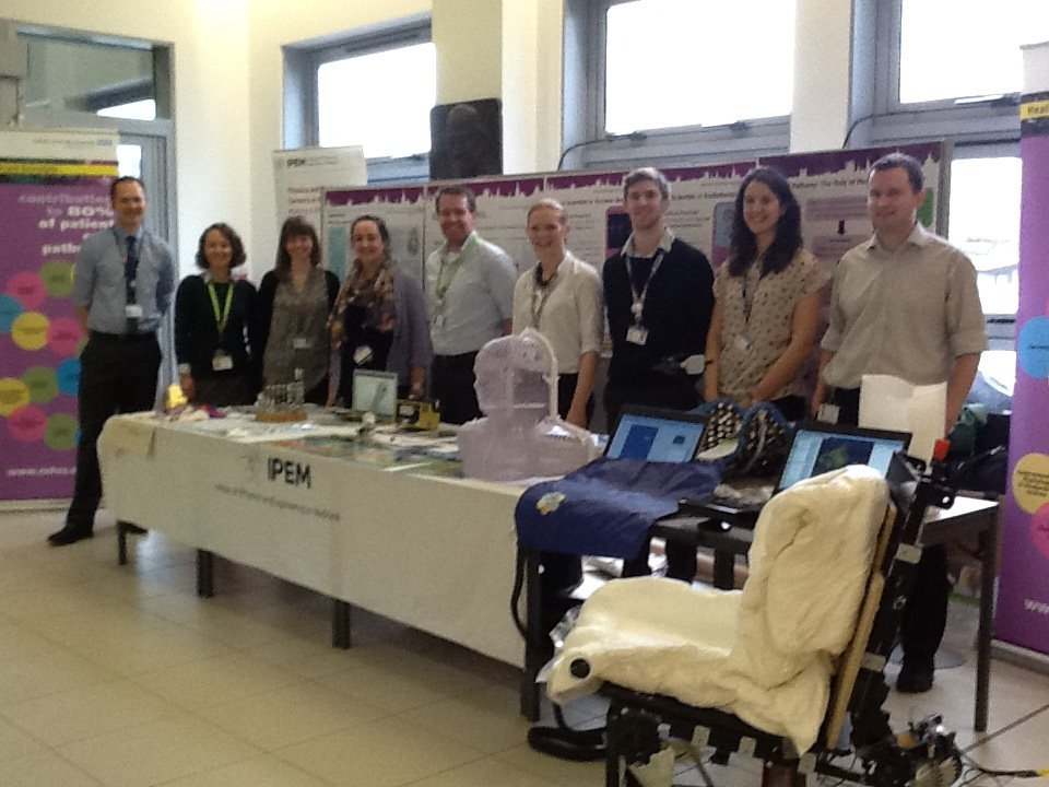 @HCScience_Ox: Come & visit Oxford's trainee scientists on healthcare science stand today: Churchill lobby! https://t.co/EEpMw6p344 #hcsweek