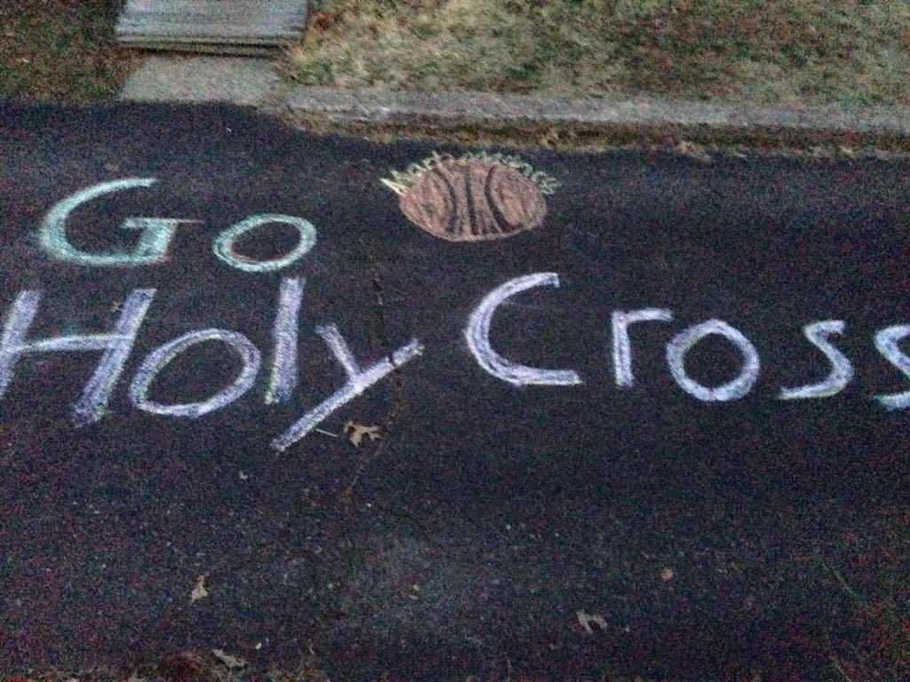 Go @holy_cross! Beat Oregon! https://t.co/rAxXFEybYr