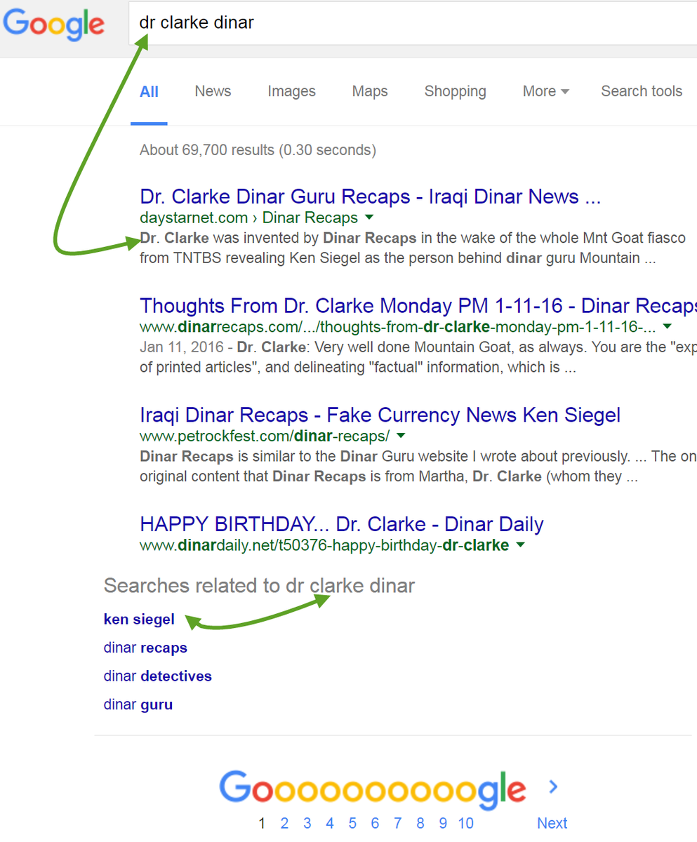 Alert Dr Clark Dinar Ideny Exposed By Google Wearethepeople Share Now Retweet Http Daystarnet Recaps Clarke