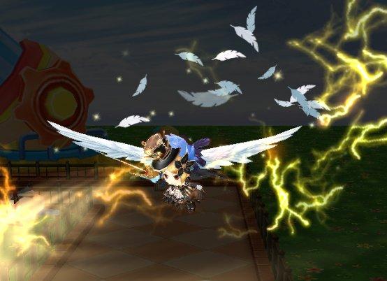 【白猫】アイオロス羽剣「真・ボレアス・エレフセリア」のステータス&スキル性能情報!チャージ短縮に移動速度AS付き、翼を生やして飛び回る事が可能!