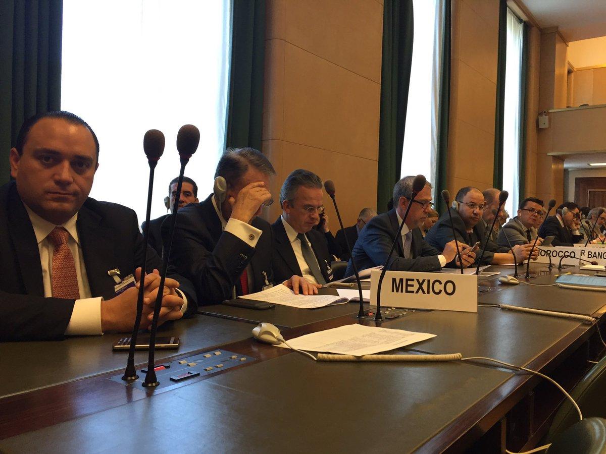 #MexicoGlobal comprometido con la reducción del riesgo de desastres #RRD @unisdr @UNGeneva https://t.co/opZU3IkKEr