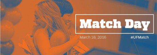 Watch UF College of Medicine Match Day 2016, LIVE! #UFMatch #Match2016 #FAFP https://t.co/GnToVLxSIw https://t.co/iOjV8jZfdM