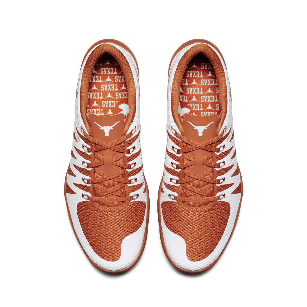 low priced da5ad ea2e6 Burnt orange brings out the best. The  niketraining Free Trainer 5.0  Texas.   http   gonike.me Texas pic.twitter.com bKeDYGvFC3