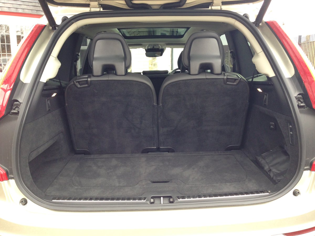 "CarProductsTested on Twitter: ""New #Volvo #XC90 has loads of boot space, even behind the 3rd row ..."