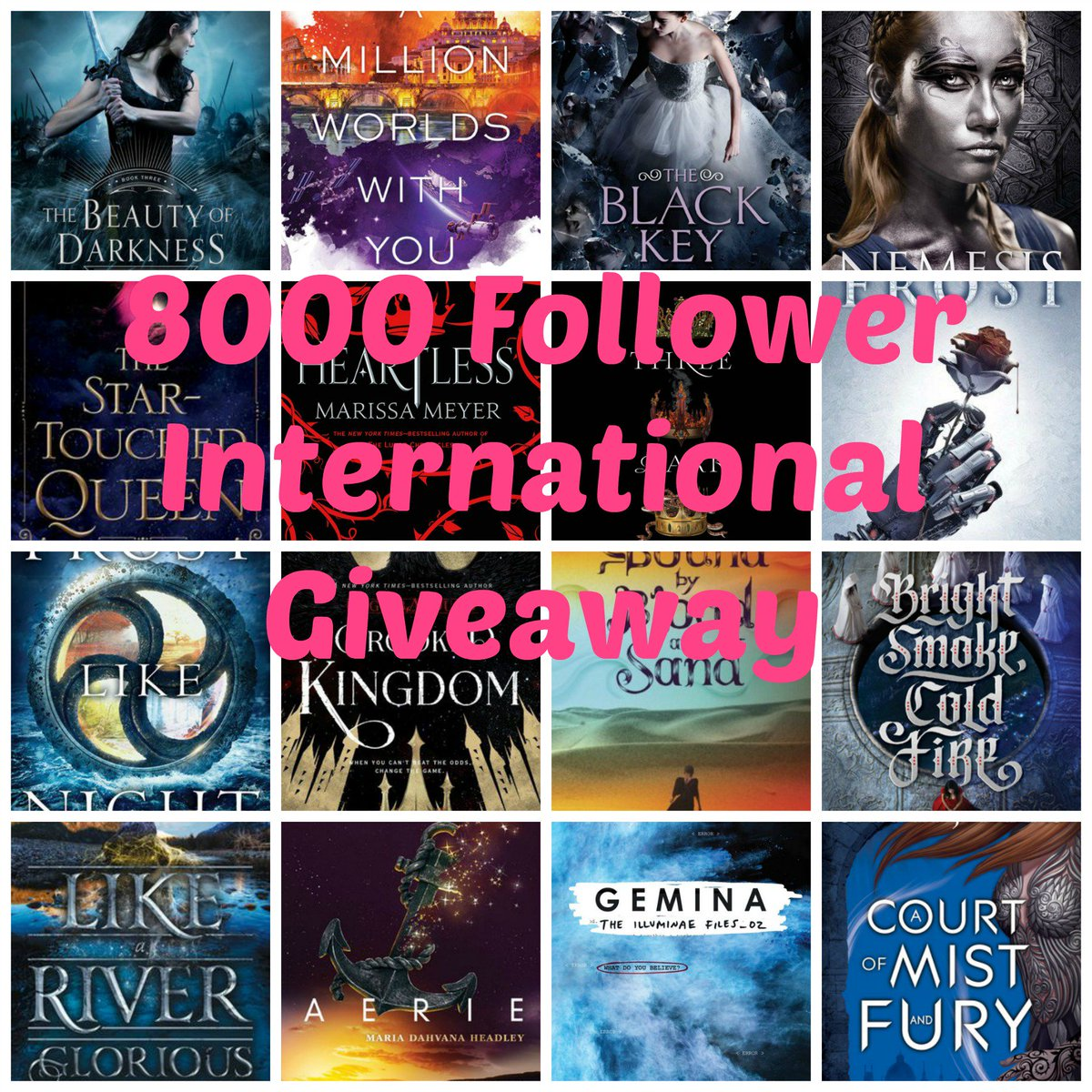 8000 Followers appreciation #giveaway! RT & Follow to win a pre-order of any 2016 release ($20 limit) INT Ends 3/31 https://t.co/YqtnyLf2Dt