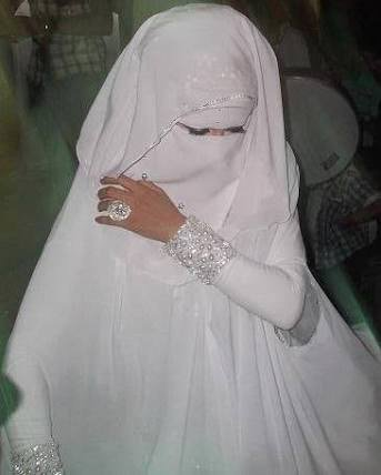 Muslimah Modesty On Twitter Great Niqab Wedding Dress For Those Who Want To Be Fully Veiled Very Nice Hijab Nikkah