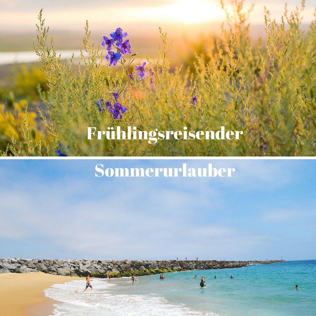 Welcher Reisetyp bist du? Frühlingsreisender oder Sommerurlauber? >>> https://t.co/jugUCA2tJP https://t.co/WDlWXNym4g