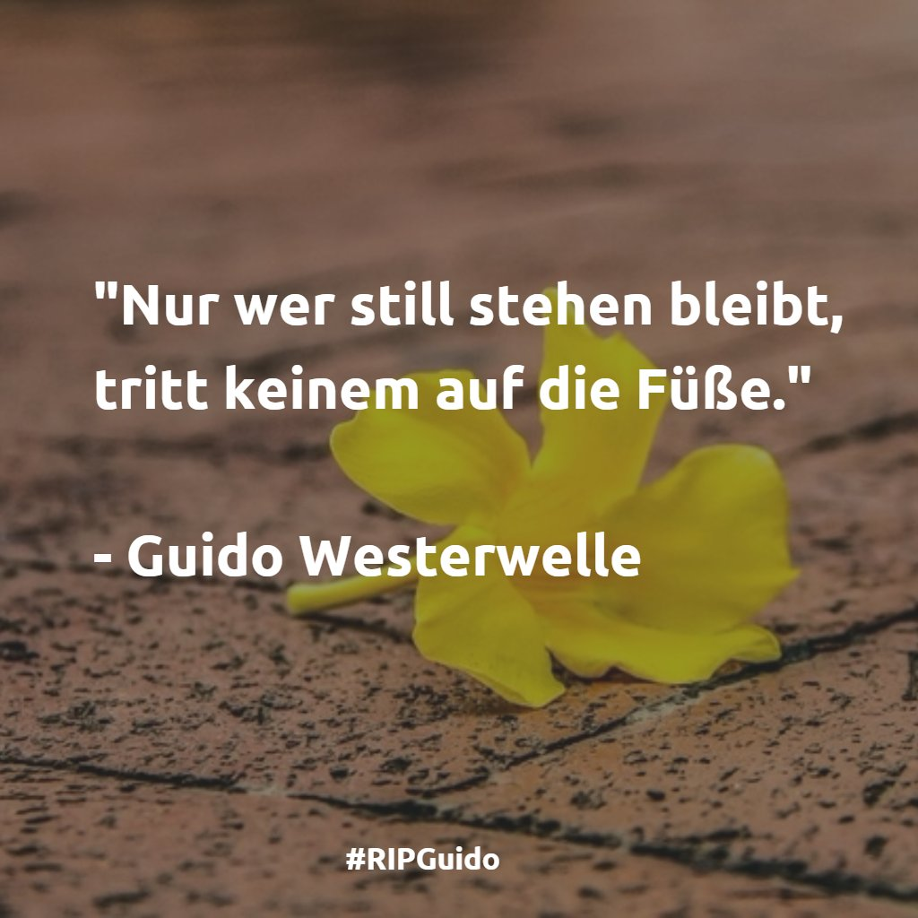 #RIPGuido #Westerwelle https://t.co/05UAlncokV
