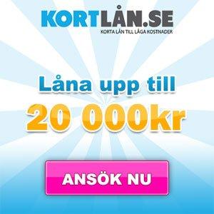 Snabblån - Låna 20000