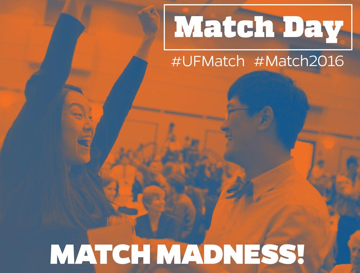 2 hours til Match madness! Follow #UFMatch for updates & check out live stream: https://t.co/qrkq7726sj #Match2016 https://t.co/I1Uoud27uN