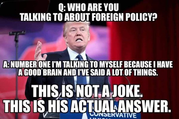 Image result for trump is a moron