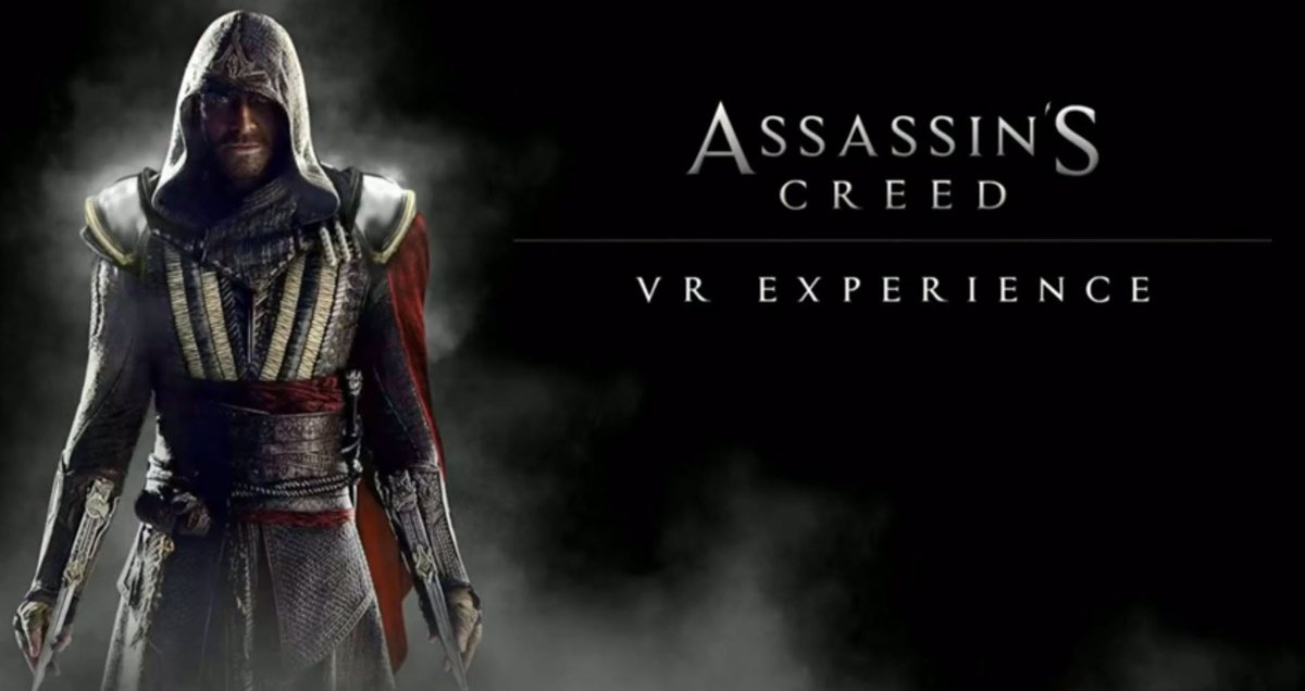 Discover more details on the upcoming VR experience based on the #AssassinsCreedMovie >> https://t.co/G1NZGjK2to || https://t.co/E15GJY9Dv6