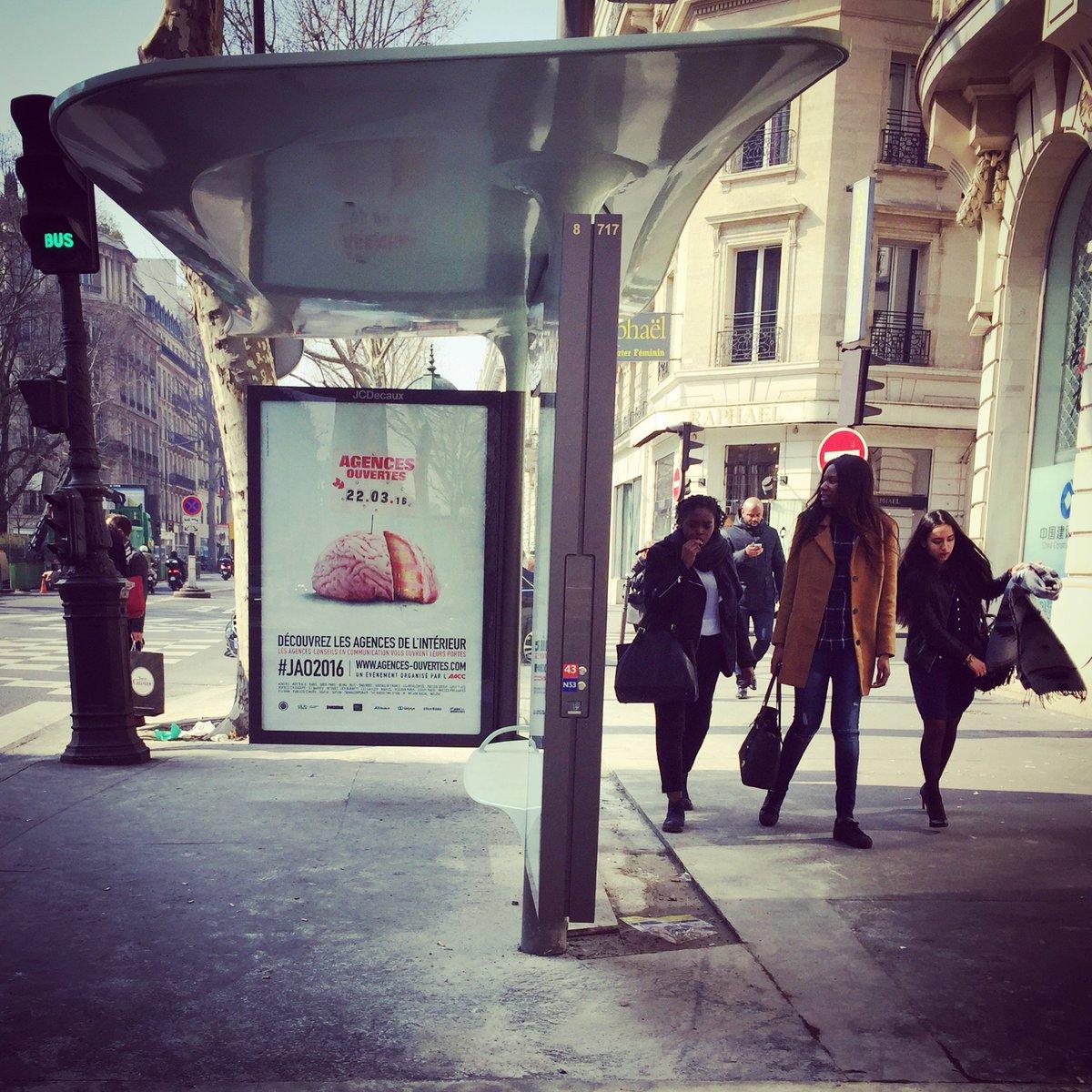 #JAO2016, c'est le 22/03/2016 dans toute la France... on en parle dans les rues de Paris ! #aacc #socialwall #headoo https://t.co/FaicS7H1ig