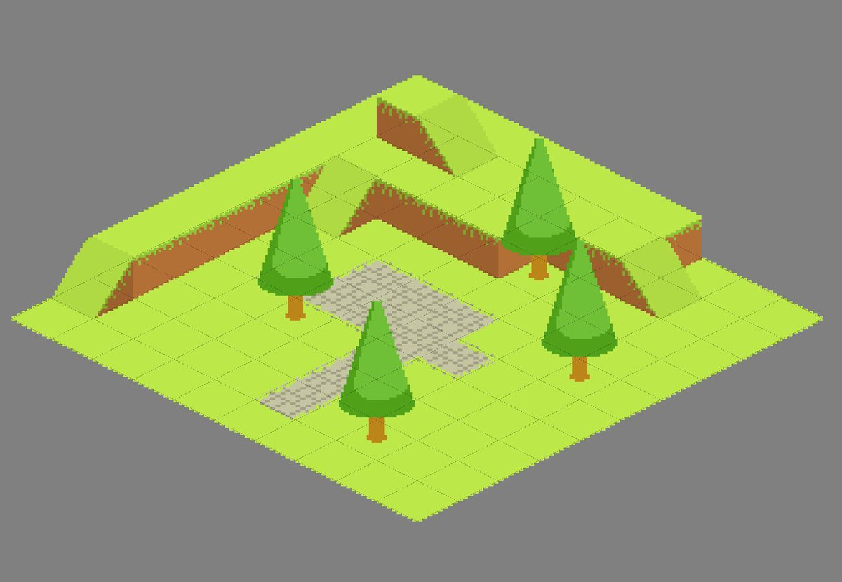 Isometric Tilemaps on JumPic com