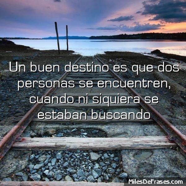 Frases En Imágenes A Twitteren Un Buen Destino Es Que Dos