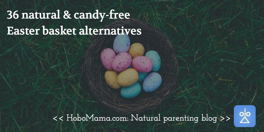 Too much candy? Try these natural #Easter basket alternatives for your kids: https://t.co/Oxcs9vAhc1 https://t.co/kbJBLmI6g8