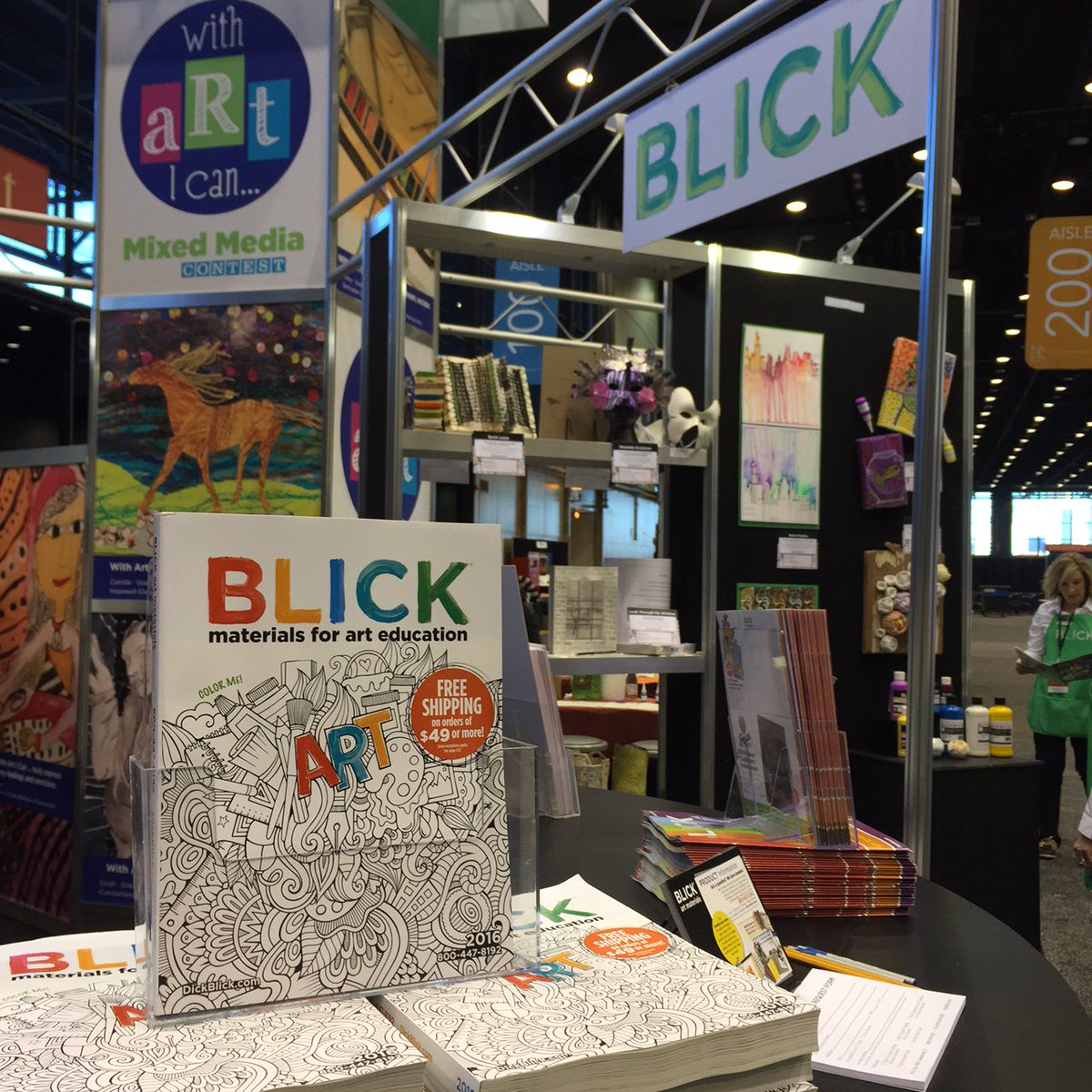 Blick Art Materials On Twitter If Youre At Naea16 Pick