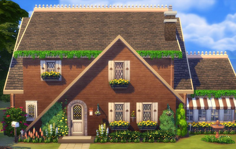 Sims  Indian Balcony Build